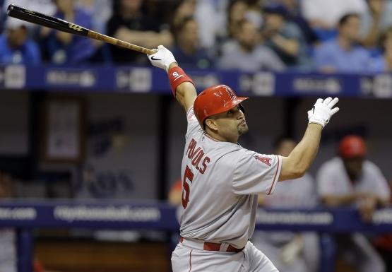 Angels Rays Baseball