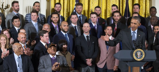 Barack Obama, Monte Irvin, Willie Mays