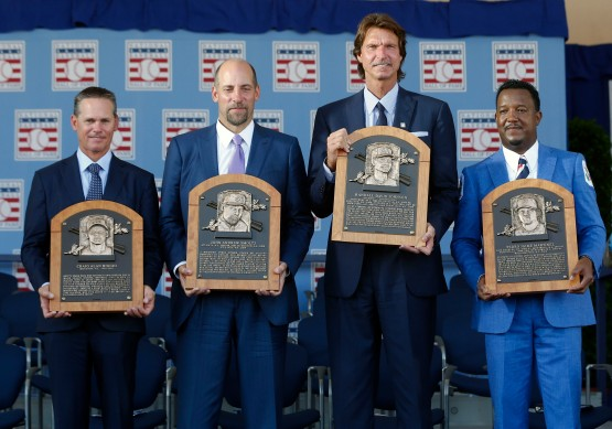 Craig Biggio,John Smoltz,Randy Johnson,Pedro Martinez