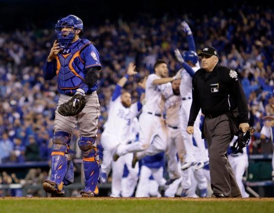 APTOPIX World Series Mets Royals Baseball